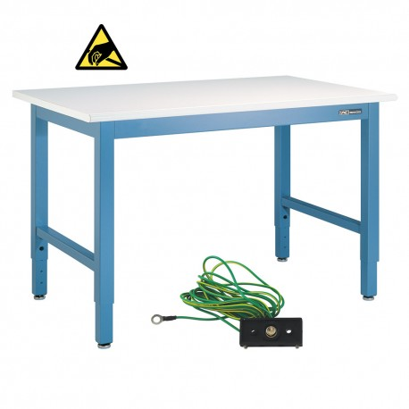 "IAC Industries Electronic Assembly Workbench ESD Top - 30""-36"" by 48""-96"""