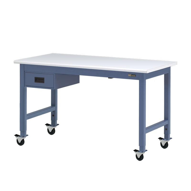 Iac Mobile Rolling Steel Workbench W 6 Drawer Equipmax