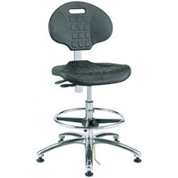 Bevco Everlast Industrial ESD Chair / Ergonomic ECR Chair - ISO 4 Certified