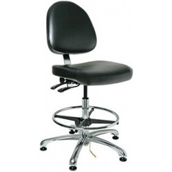 Bevco Integra Heavy-Duty ESD Chair / ECR Cleanroom Chair - ISO 5 Certified