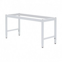Lab Table Frame Adjustable Or Fixed 30 36 H X 24 36 W X 48