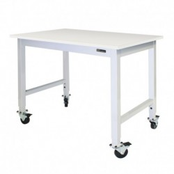 IAC Mobile / Rolling Lab Bench / Table - Chemsurf® Chemical Resistant Top