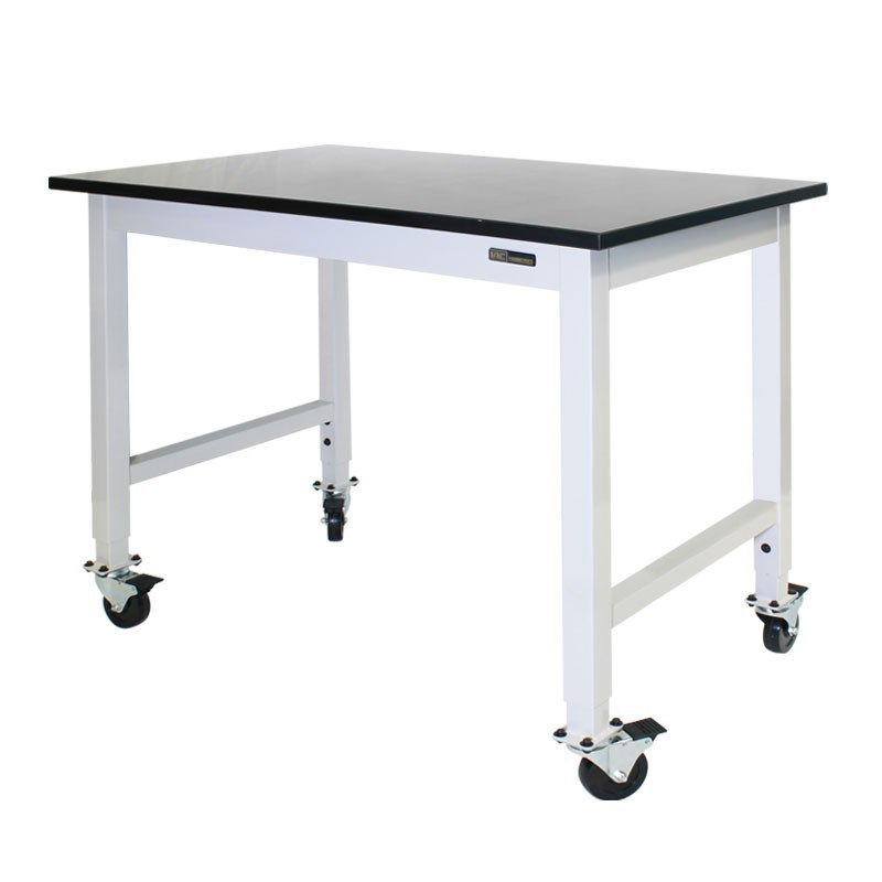 iac mobile lab table trespa top equipmax. Black Bedroom Furniture Sets. Home Design Ideas