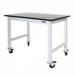 IAC Mobile / Rolling Lab Bench / Table - Epoxy Top