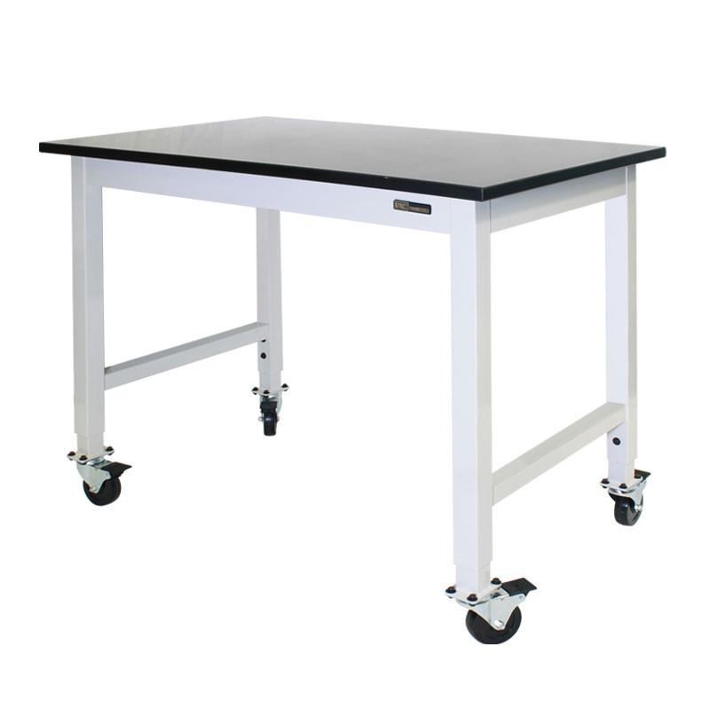 Mobile Lab Bench Iac Rolling Table Epoxy