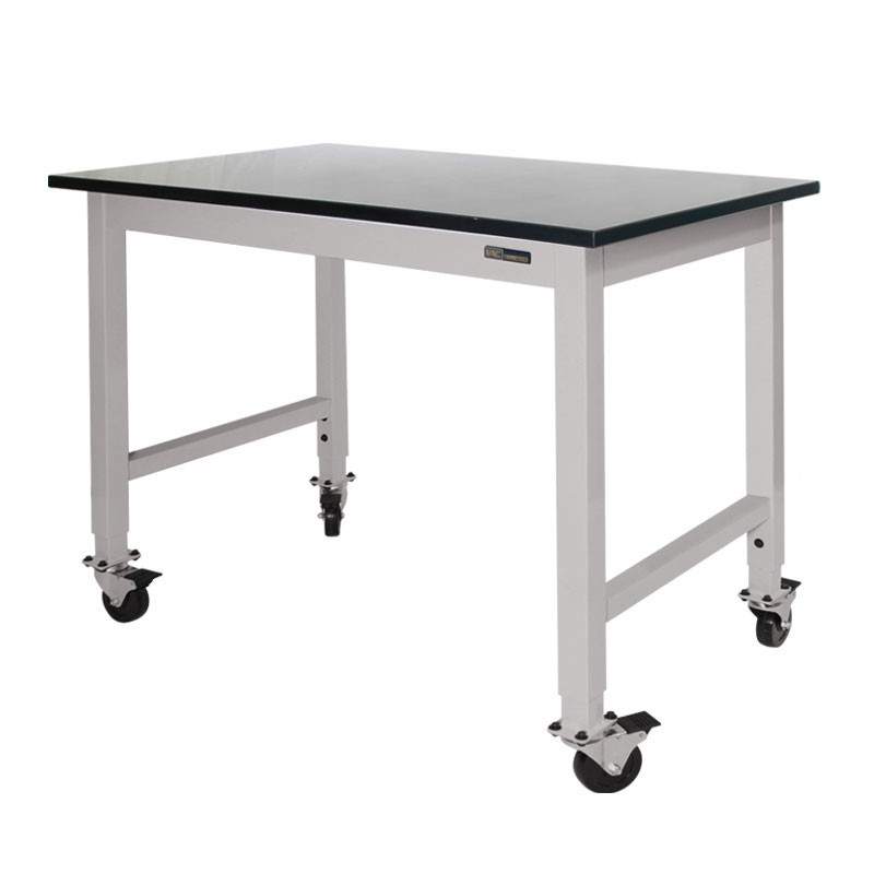 Iac Mobile Rolling Lab Bench Table Epoxy Top Equipmax
