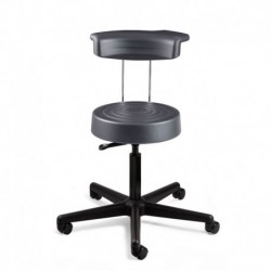 Bevco Ergolux Work Stool With Backrest