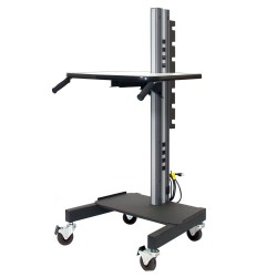 "IAC S6 Mobile/Rolling Task Cart Base Model (Reduced Height 56.5"")"