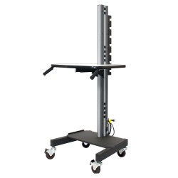 "IAC S1 Mobile/Rolling Task Cart Base Model (Standard Height 68.5"")"