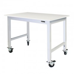 IAC Mobile / Rolling Lab Table - Chemical Resistant Top