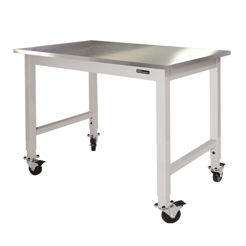 ... IAC Mobile / Rolling Lab Table   Stainless Steel Top ...