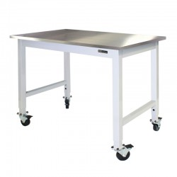 IAC Mobile / Rolling Lab Table - Stainless Steel Top