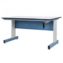 """Hand Crank Height Adjustable Industrial Workbench – 30""""D x 60""""W"""