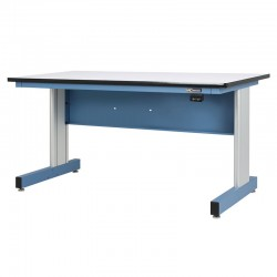 "Motorized Electric Height Adjustable Industrial Workbench – 30""D x 60""W"