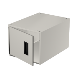 "LT Single 12"" locker w/lock"