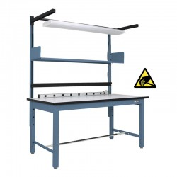 ESD Workbench Assembly Table - Industrial Strength