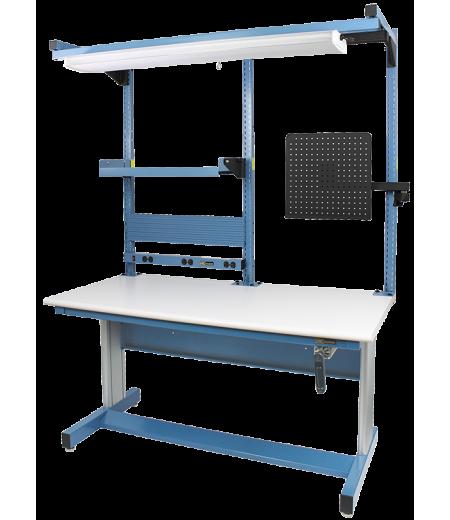 Iac Pro Series Adjustable Height Workstations Equipmax